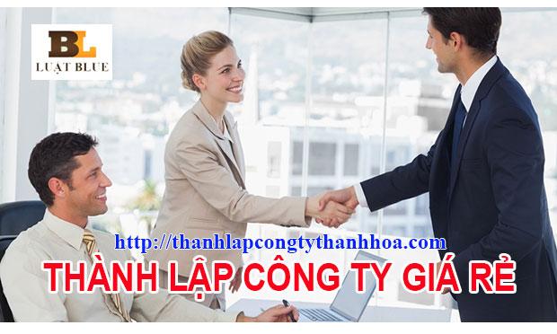 Thành lập công ty tại Đông Sơn