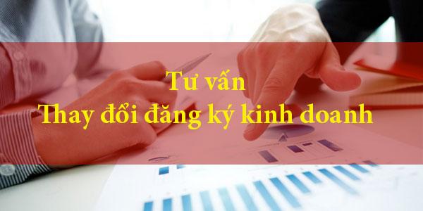 Thay đổi đăng ký kinh doanh tại Thanh Hóa